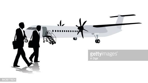 print - business travel stock illustrations, clip art, cartoons, & icons
