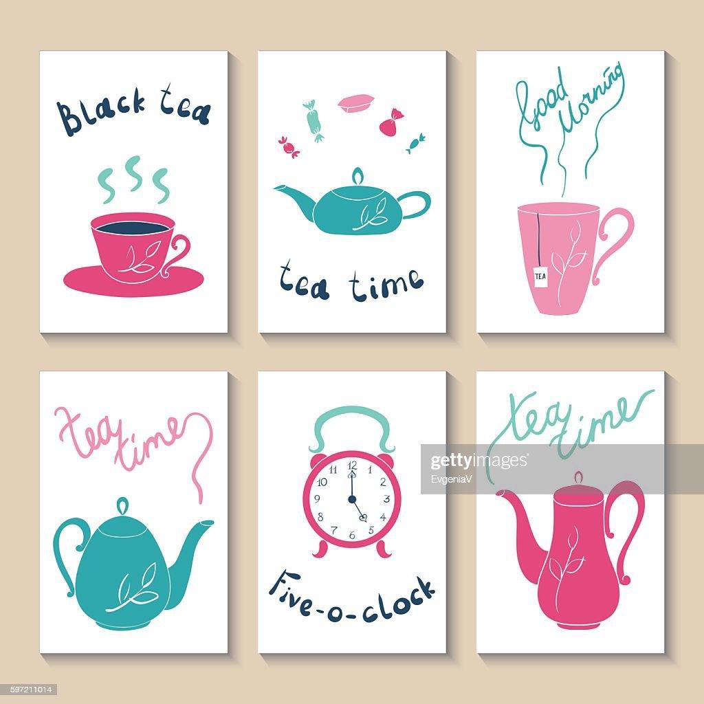 Printable templates set