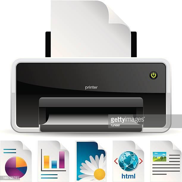 Printer & Document icons