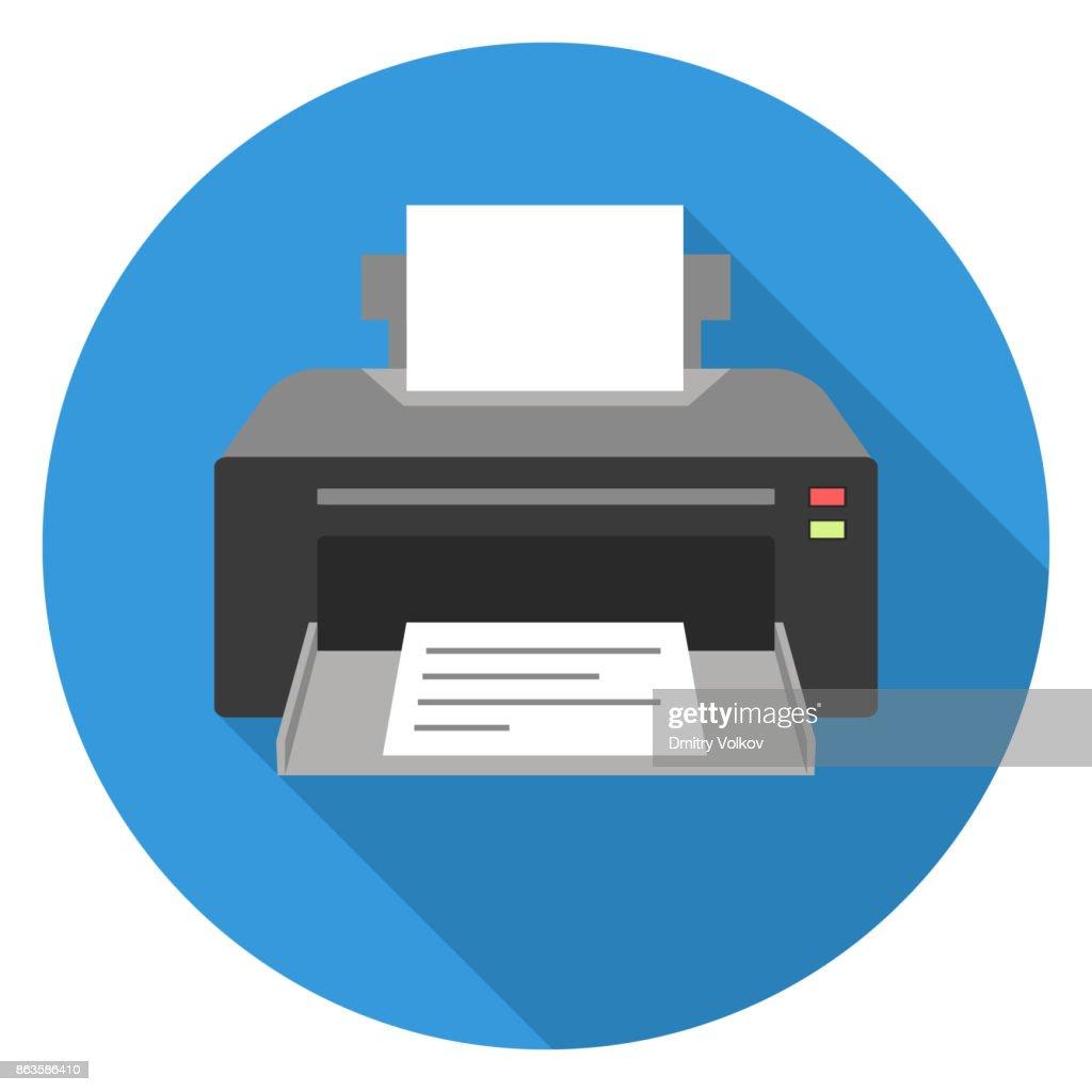 Printer, Printer icon