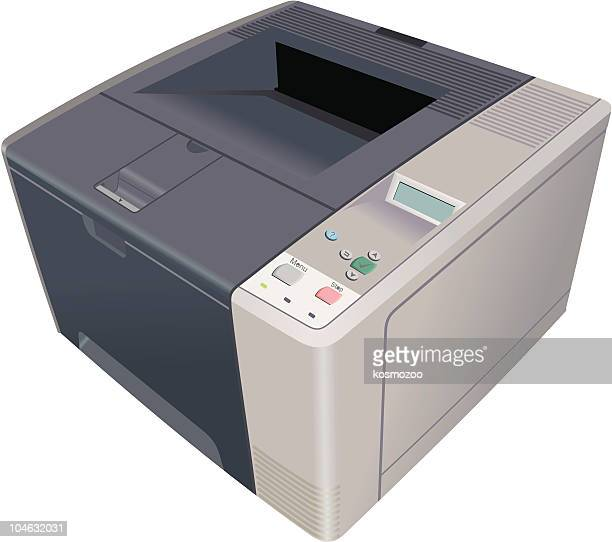 printer - photocopier stock illustrations, clip art, cartoons, & icons