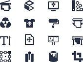 Printing icons