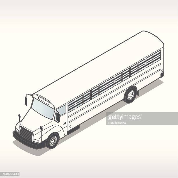 prison bus illustration - mathisworks stock illustrations