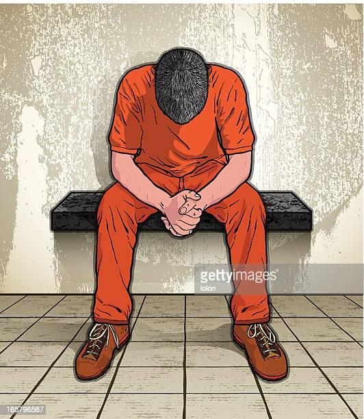 Gefangener in Gefängnis
