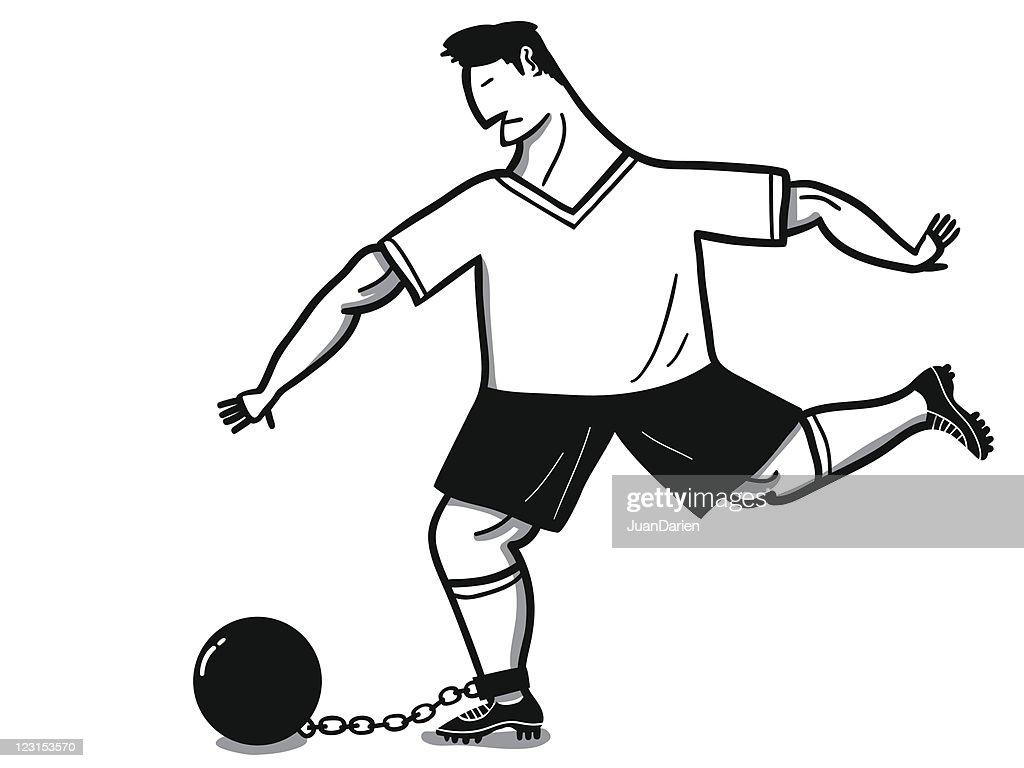 Prisoner soccer player