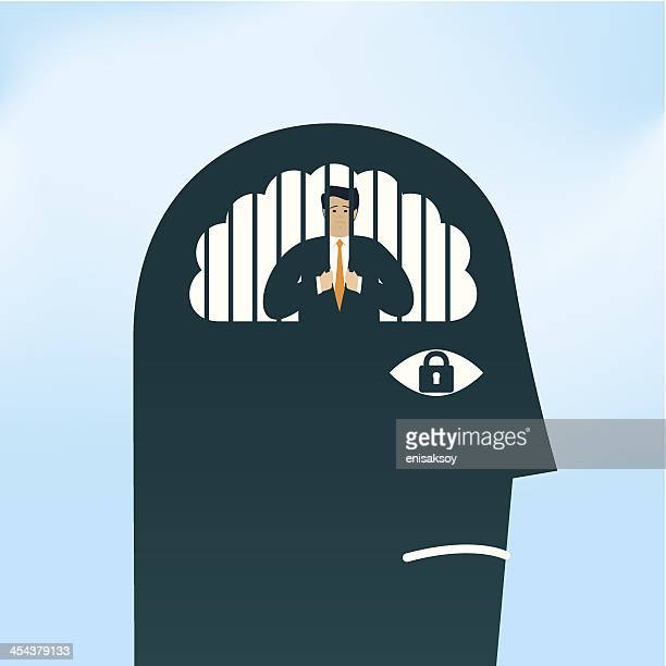 prisoner - obsessive stock illustrations, clip art, cartoons, & icons