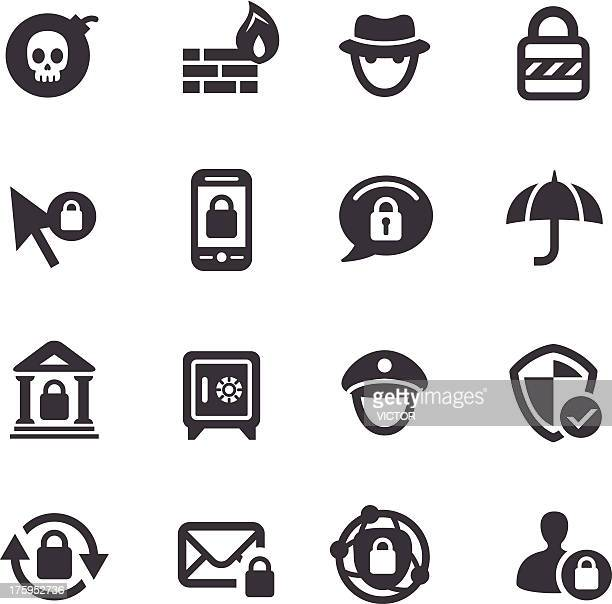 Privacy and Internet Security Icons - Acme Series