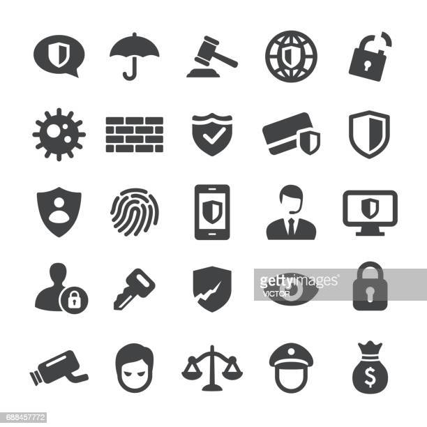 privacy and internet security icons - smart series - the internet stock illustrations, clip art, cartoons, & icons