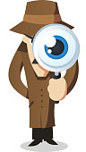 Private eye Detective Investigator
