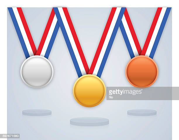 Prize Medals and Awards Gold Silver and Bronze