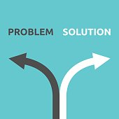 Problem and solution arrows