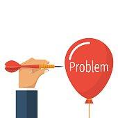 Problem solving, business concept