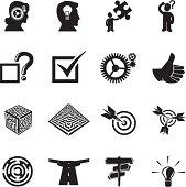 Problem Solving Icons