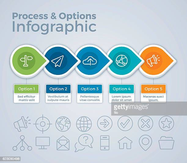 Process and Options Infographic