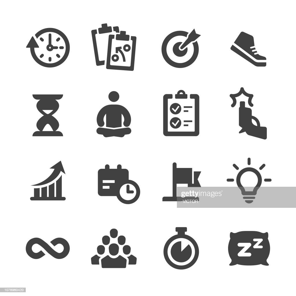 Productivity Icons - Acme Series : stock illustration