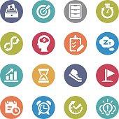 Productivity Icons - Circle Series