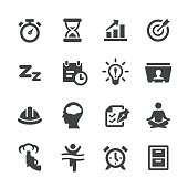 Productivity Icons Set - Acme Series