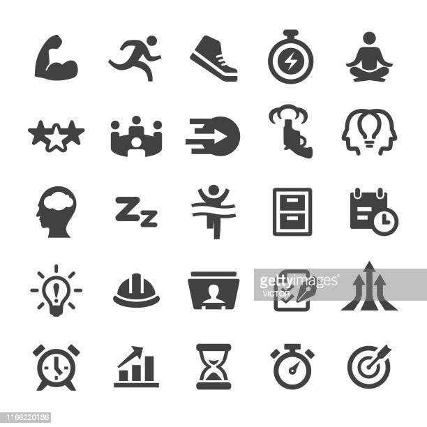 productivity icons set - smart series - rolodex stock illustrations, clip art, cartoons, & icons