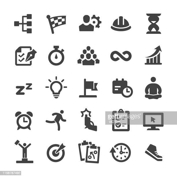 productivity icons - smart series - rolodex stock illustrations, clip art, cartoons, & icons