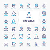 Profession & Occupation Icon Set