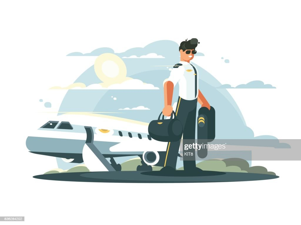 Profession pilot of aircraft