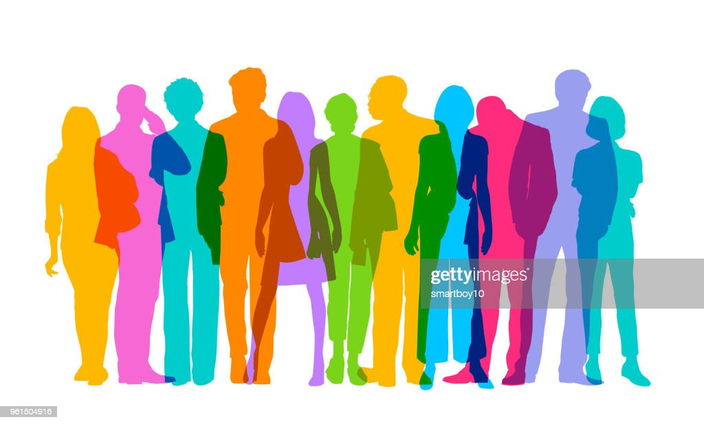 Professional or Business people : stock illustration