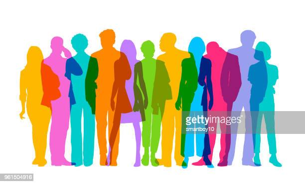 professional or business people - leadership stock illustrations