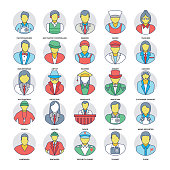 Professional Services Vector Icons Collection