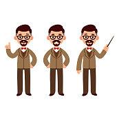 Professor character set