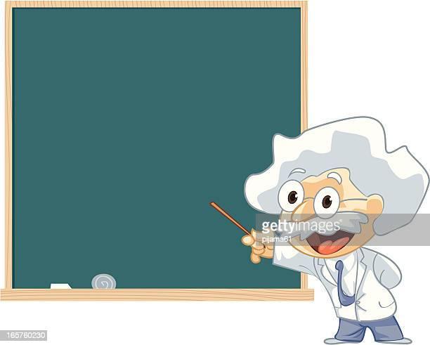 illustrations, cliparts, dessins animés et icônes de professeur de présentation - devant