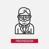 Professor - single icon