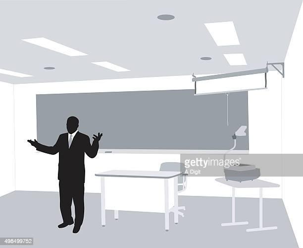 Professor Teach Vortrag