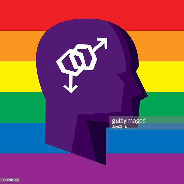 Profile Gay Rights Stylized