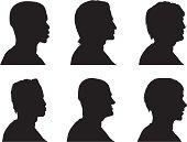 Profile Silhouettes - Men