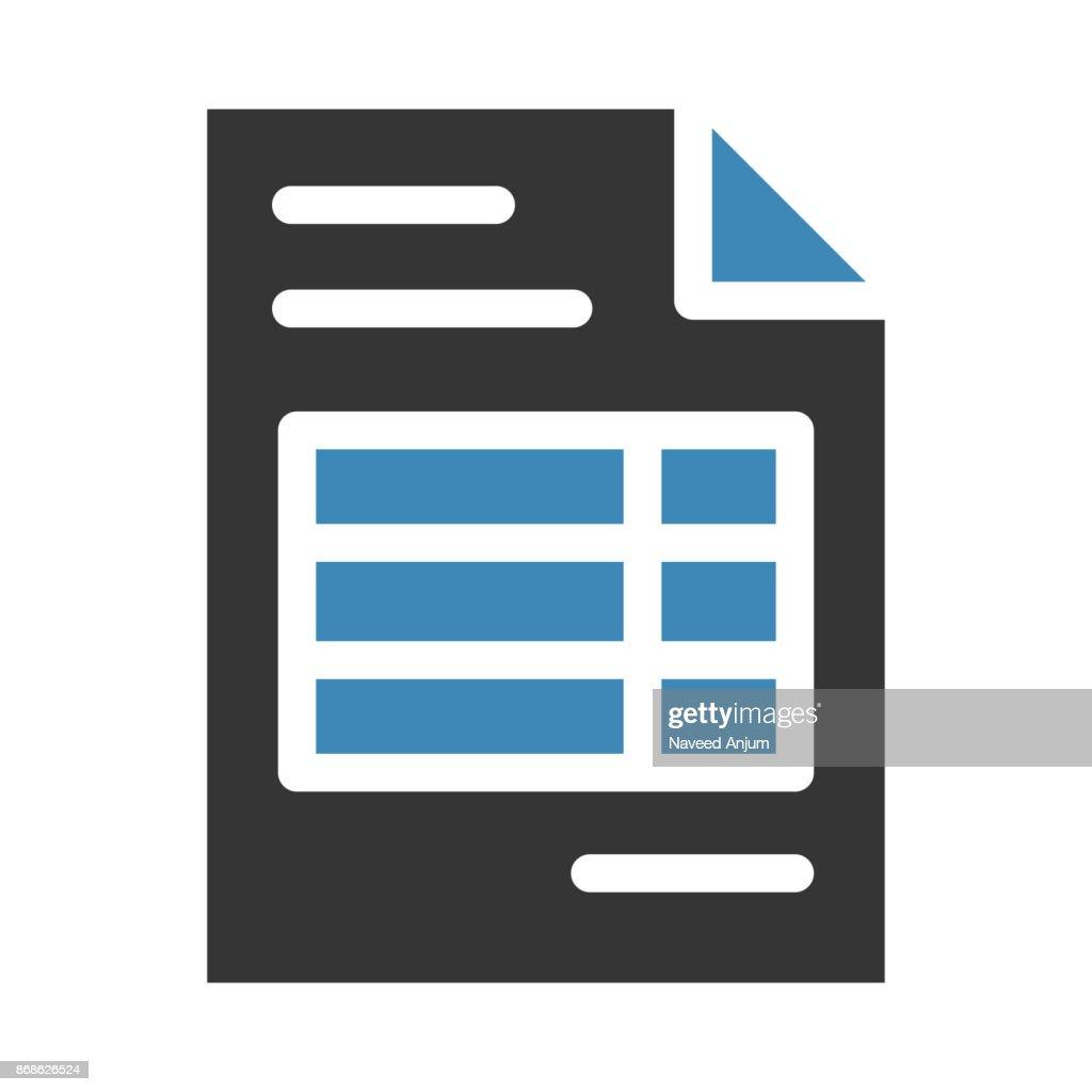 profile thin line vector icon
