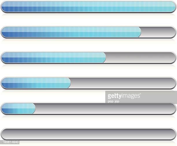 progress bar - aufladen stock-grafiken, -clipart, -cartoons und -symbole