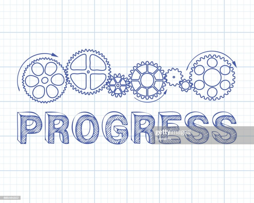 Progress Graph Paper High-Res Vector Graphic - Getty Images