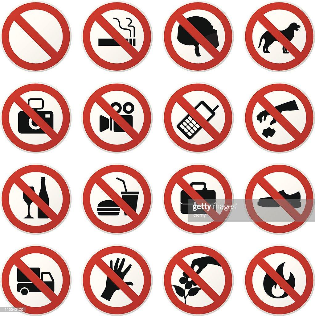 Prohibited Sign