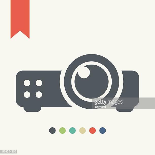 Projektor-Symbol