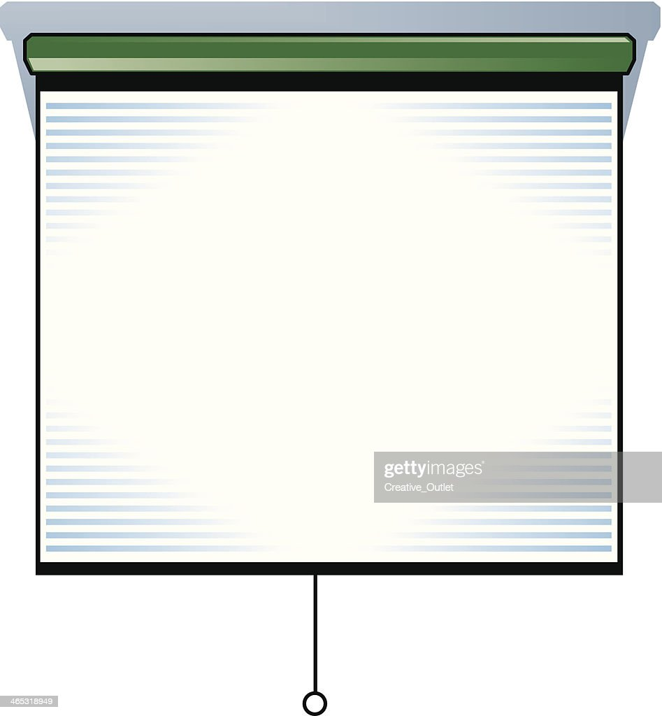 Projector Screen C