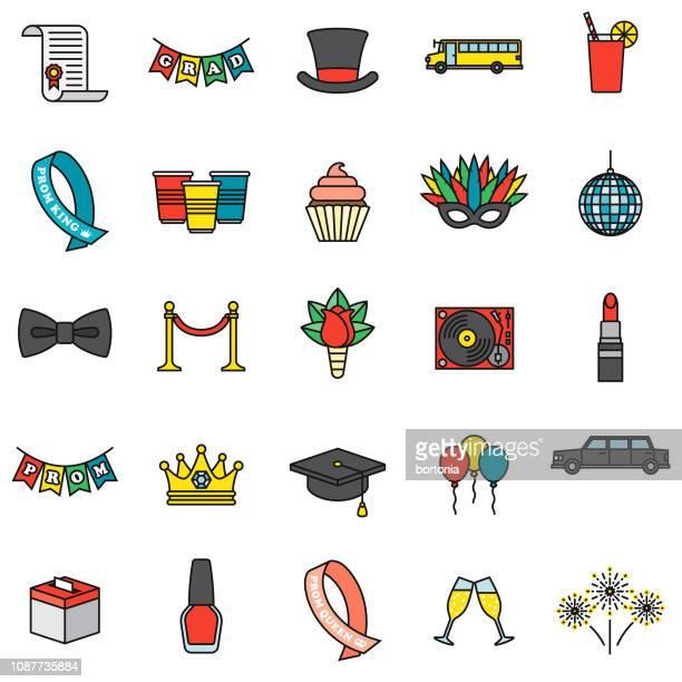 Prom Icon Set