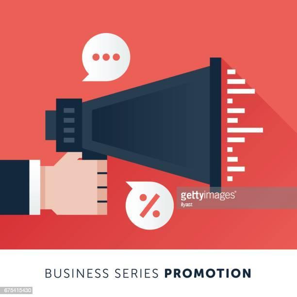 promotion - promoter stock illustrations