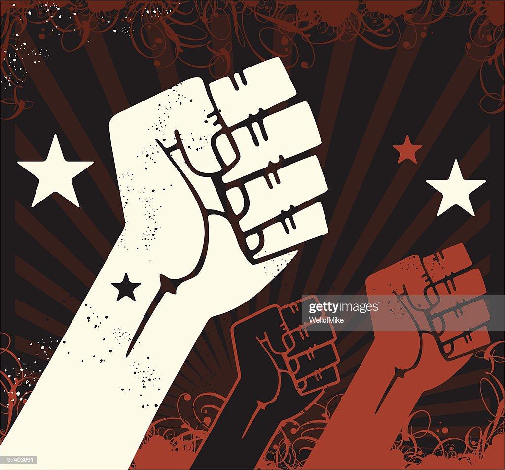 Propaganda Fists