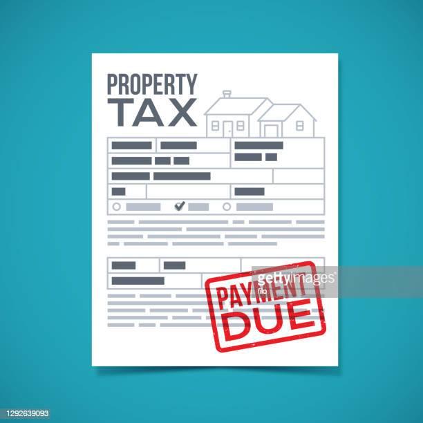 固定資産税支払期日 - 証書点のイラスト素材/クリップアート素材/マンガ素材/アイコン素材