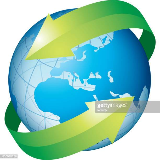 protect earth - surrounding stock illustrations, clip art, cartoons, & icons