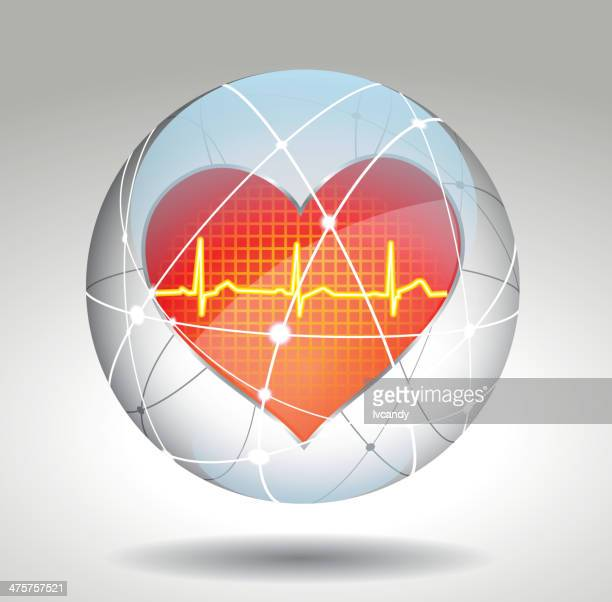 Protection de symbole de cœur
