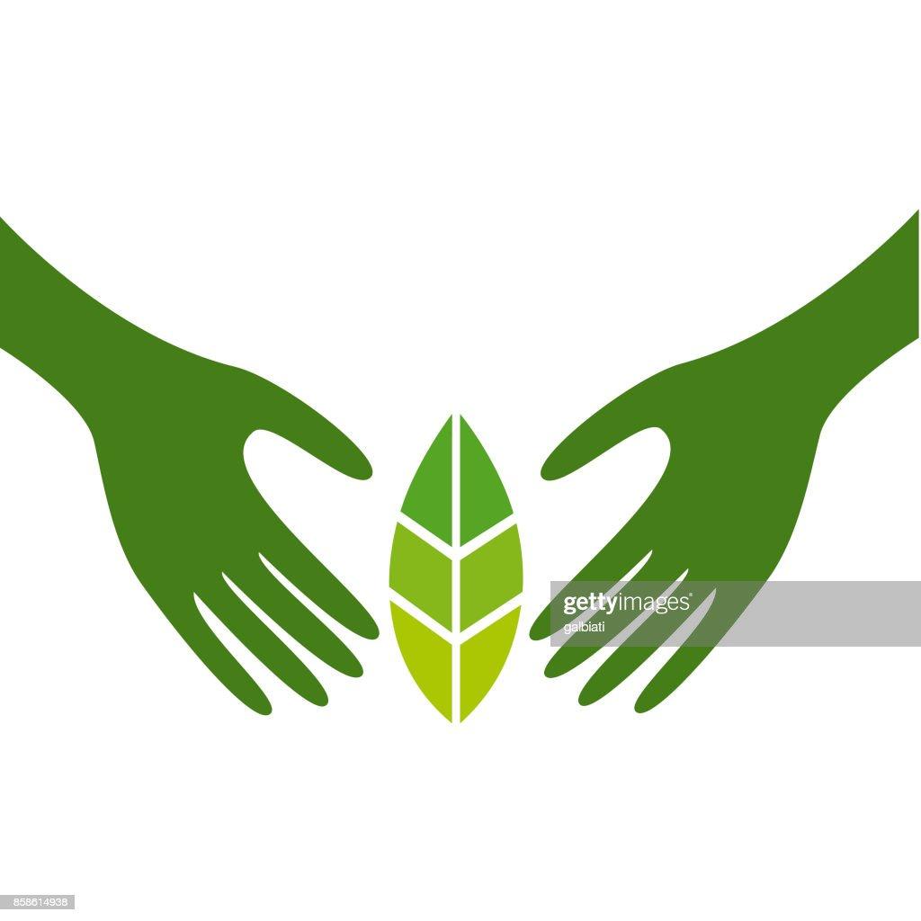 Schutz der Natur : Stock-Illustration