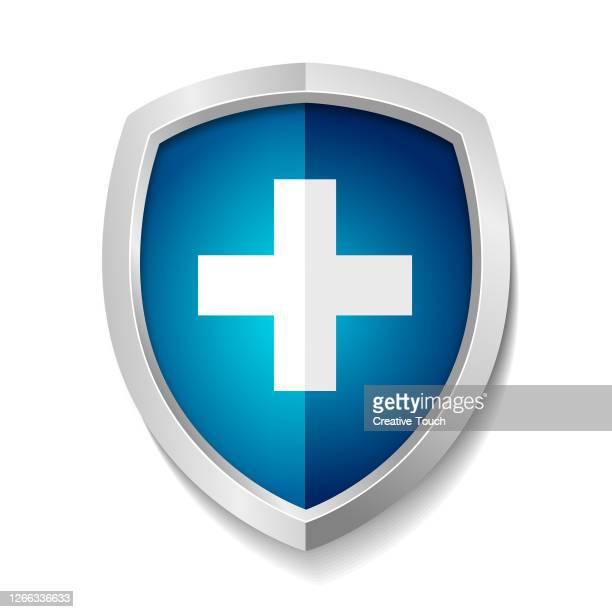 protection shield - shielding stock illustrations