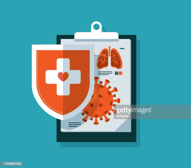 protection - infectious disease stock illustrations
