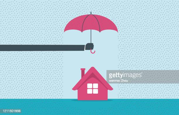 protection - parasol stock illustrations